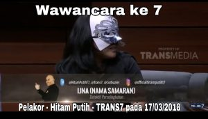 detektif perselingkuhan wawancara hitam putih dengan tema Pelakor-TRANS7
