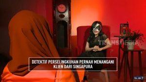 Detektif Perselingkuhan wawancara dengan On The Spot - TRANS7 pada 22/11/2017