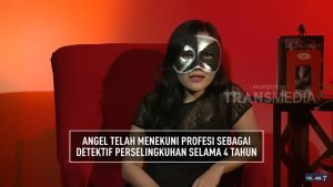 angel telah bekerja 4 tahun pada detektif perselingkuhan